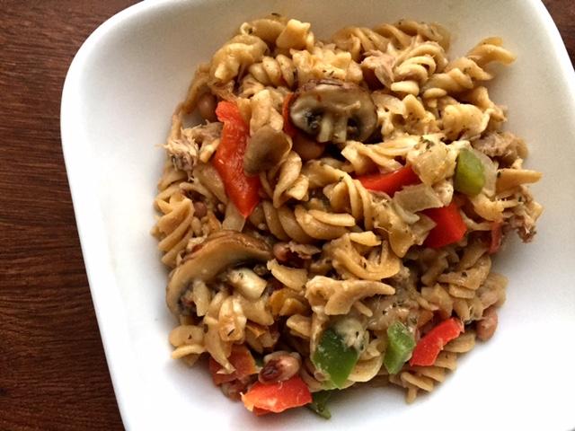 Mediterranean Tuna Noodle Casserole